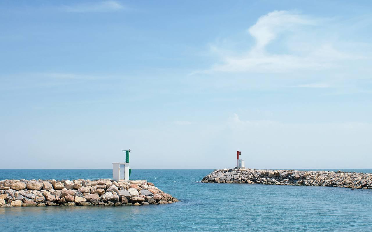 Beautiful sea hotel in camargue