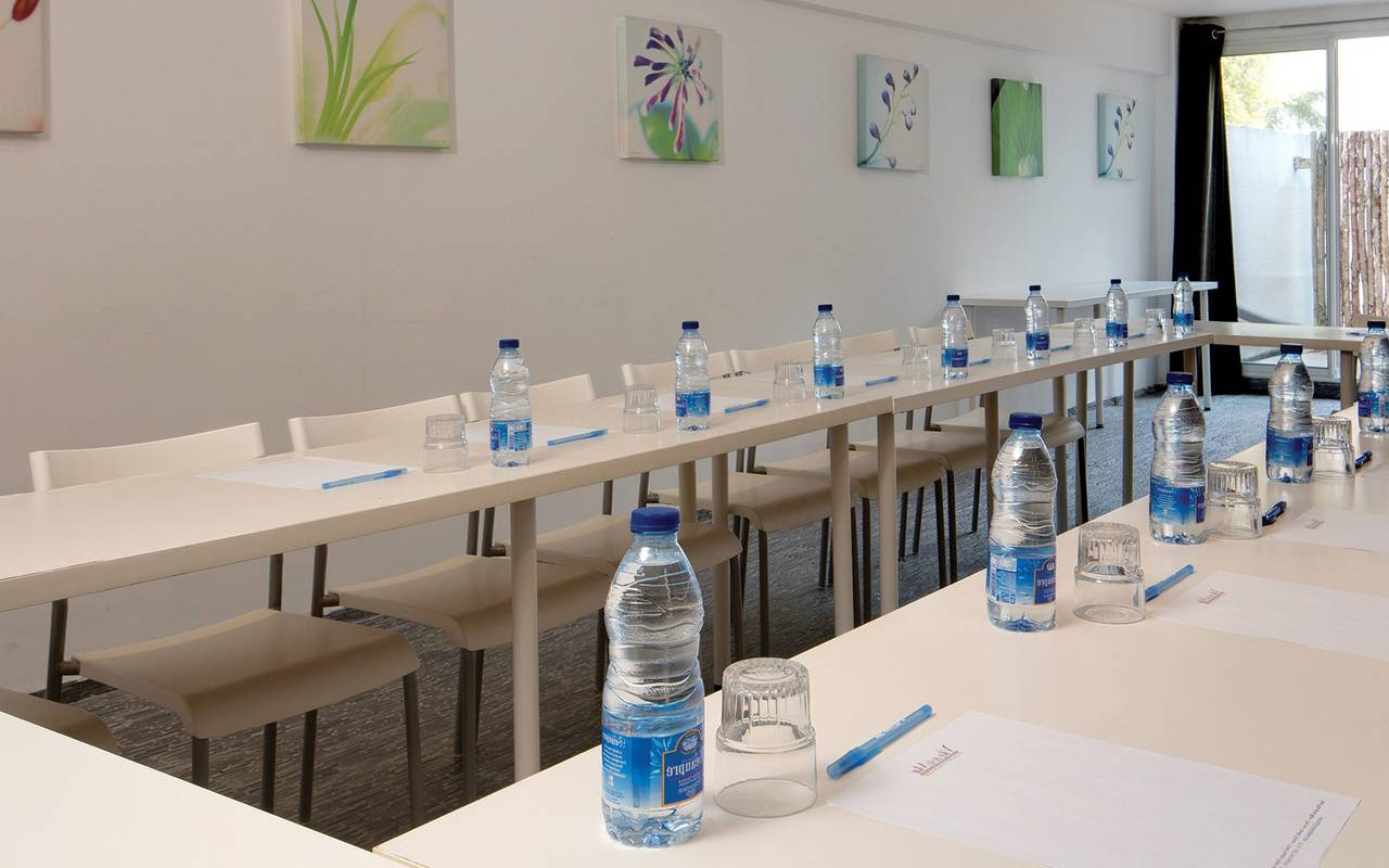 Professional seminar table spa hotel camargue