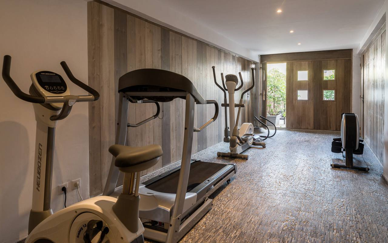 Fitness room hotel in camargue
