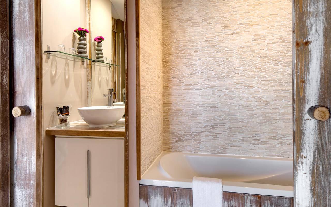Chic salle de bain atypique séminaire camargue