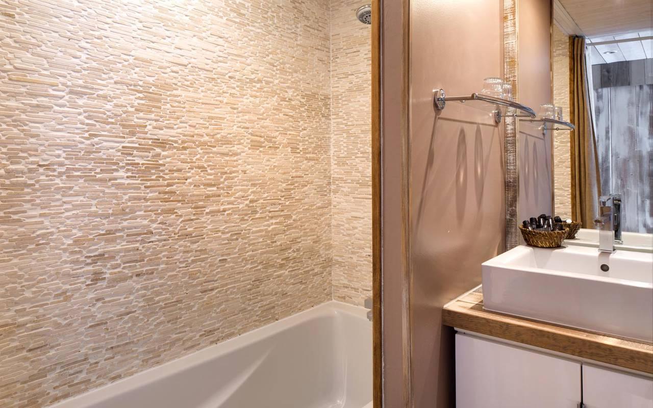 Salle de bain cosy séminaire professionnel camargue