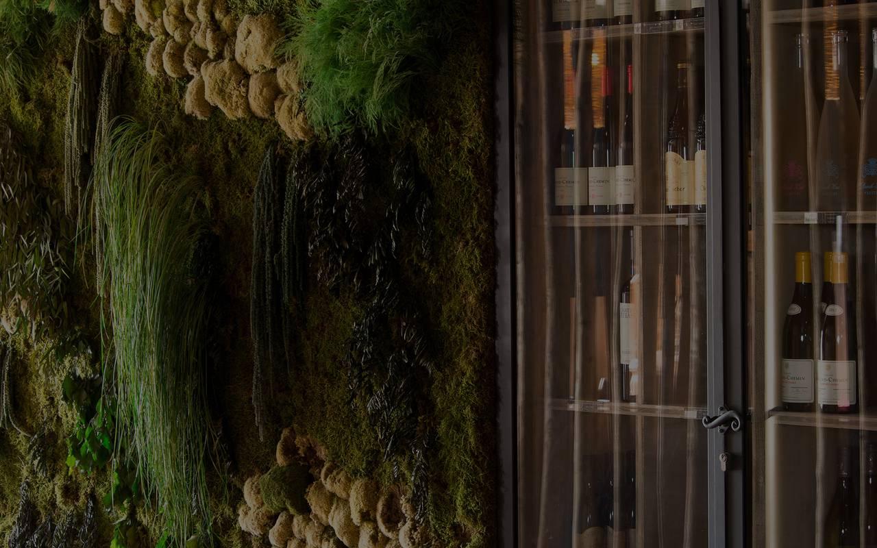Cave à vin hôtel spa camargue