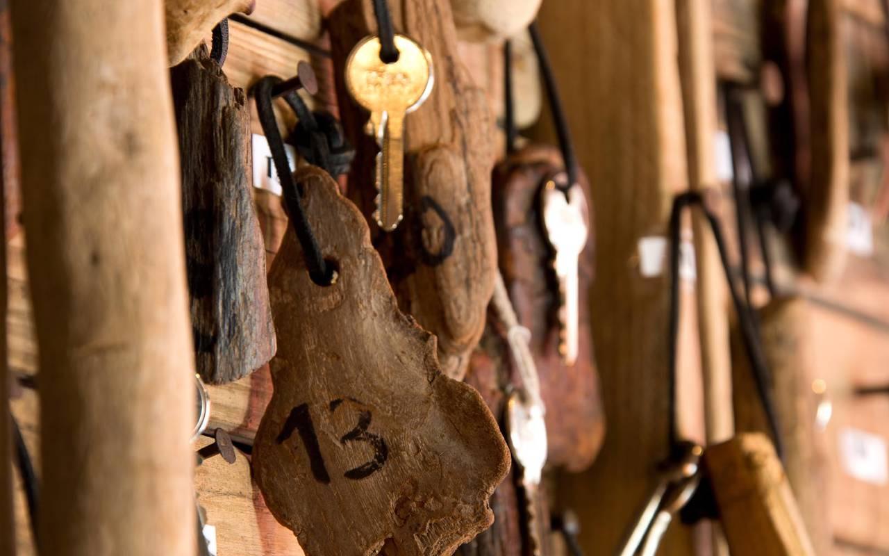 Trousseau de clés séminaire camargue